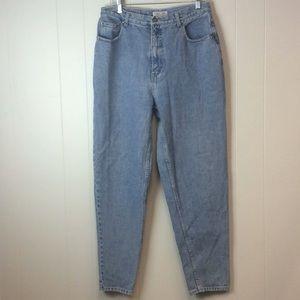 Vtg Cherokee High Waist Mom Jeans tapered leg